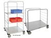 STAINLESS STEEL DISTRIBUTION SUPPLY CARTS
