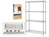 4-SHELF CONSUMER GRADE WIRE SHELVING
