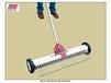RAKE ATTACHMENT FOR MULTI-SURFACE MAGNETIC RAKE ON WHEELS